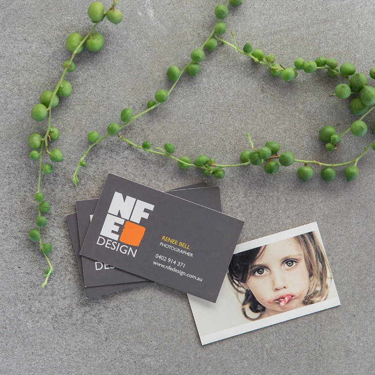 nfe design business cards